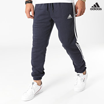 https://laboutiqueofficielle-res.cloudinary.com/image/upload/v1627638668/Desc/Watermark/adidas_performance.svg Adidas Performance - Pantalon Jogging A Bandes 3 Stripes H12250 Bleu Marine