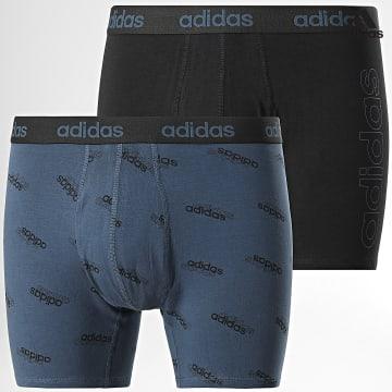 https://laboutiqueofficielle-res.cloudinary.com/image/upload/v1627638668/Desc/Watermark/adidas_performance.svg Adidas Performance - Lot De 2 Boxers H35742 Noir Bleu