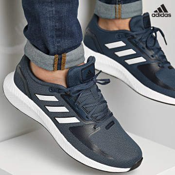 https://laboutiqueofficielle-res.cloudinary.com/image/upload/v1627638668/Desc/Watermark/adidas_performance.svg Adidas Performance - Baskets RunFalcon 2 GZ8077 Crew Navy Cloud White Legacy Ink