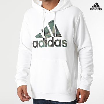 https://laboutiqueofficielle-res.cloudinary.com/image/upload/v1627638668/Desc/Watermark/adidas_performance.svg Adidas Performance - Sweat Capuche Camo H14672 Ecru