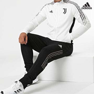 https://laboutiqueofficielle-res.cloudinary.com/image/upload/v1627638668/Desc/Watermark/adidas_performance.svg Adidas Performance - Ensemble De Survetement A Bandes Juventus GR2965 Noir Ecru
