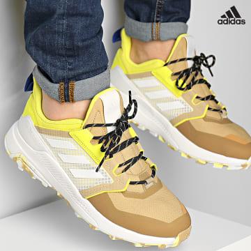 https://laboutiqueofficielle-res.cloudinary.com/image/upload/v1627638668/Desc/Watermark/adidas_performance.svg Adidas Performance - Baskets Terrex Trailmaker Primegreen GZ0134 Beige Tone Crystal White Acid Yellow