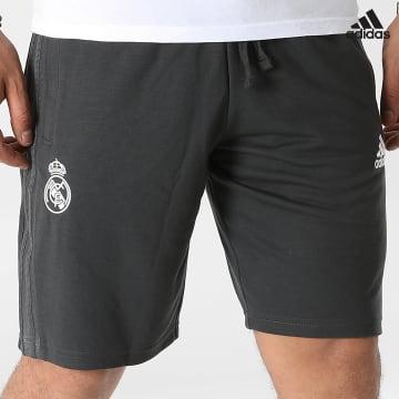 https://laboutiqueofficielle-res.cloudinary.com/image/upload/v1627638668/Desc/Watermark/adidas_performance.svg Adidas Performance - Short Jogging A Bandes Real Madrid GR4264 Gris Anthracite