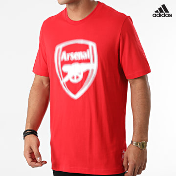 https://laboutiqueofficielle-res.cloudinary.com/image/upload/v1627638668/Desc/Watermark/adidas_performance.svg Adidas Performance - Tee Shirt Arsenal FC GR4197 Rouge