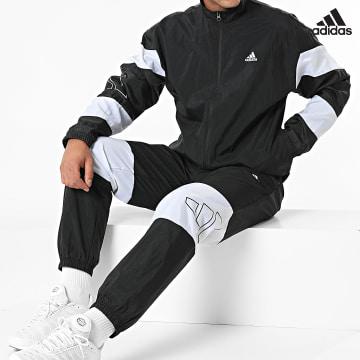https://laboutiqueofficielle-res.cloudinary.com/image/upload/v1627638668/Desc/Watermark/adidas_performance.svg Adidas Performance - Ensemble De Survetement MTS 3 Bars Logo H42019 Noir