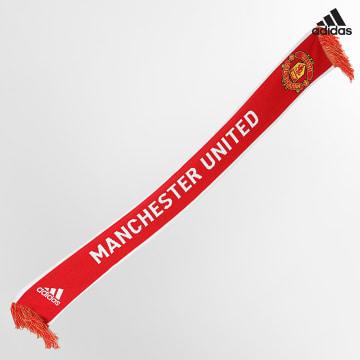 https://laboutiqueofficielle-res.cloudinary.com/image/upload/v1627638668/Desc/Watermark/adidas_performance.svg Adidas Performance - Echarpe Manchester United GU0121 Rouge