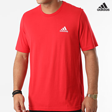 https://laboutiqueofficielle-res.cloudinary.com/image/upload/v1627638668/Desc/Watermark/adidas_performance.svg Adidas Performance - Tee Shirt M SL GK9642 Rouge