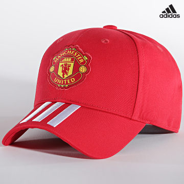 https://laboutiqueofficielle-res.cloudinary.com/image/upload/v1627638668/Desc/Watermark/adidas_performance.svg Adidas Performance - Casquette Manchester United Baseball GU0112 Rouge