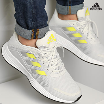 https://laboutiqueofficielle-res.cloudinary.com/image/upload/v1627638668/Desc/Watermark/adidas_performance.svg Adidas Performance - Baskets Duramo SL H04621 Orbital Grey Acid Yellow Grey Three