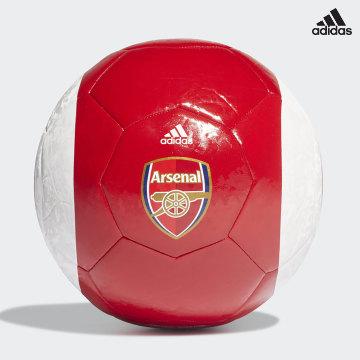 https://laboutiqueofficielle-res.cloudinary.com/image/upload/v1627638668/Desc/Watermark/adidas_performance.svg Adidas Performance - Ballon De Foot Asenal FC GT3916 Rouge Blanc