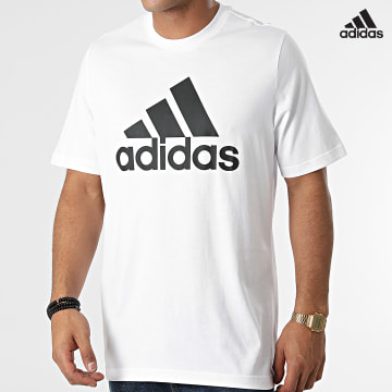 https://laboutiqueofficielle-res.cloudinary.com/image/upload/v1627638668/Desc/Watermark/adidas_performance.svg Adidas Performance - Tee Shirt M BL GK9121 Ecru