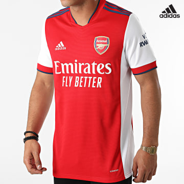 https://laboutiqueofficielle-res.cloudinary.com/image/upload/v1627638668/Desc/Watermark/adidas_performance.svg Adidas Performance - Tee Shirt Arsenal FC GM0217 Rouge