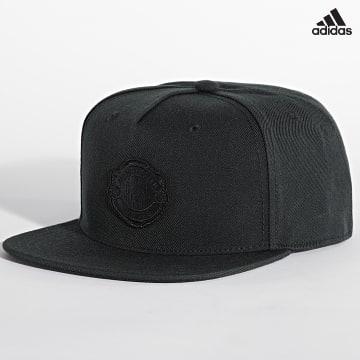 https://laboutiqueofficielle-res.cloudinary.com/image/upload/v1627638668/Desc/Watermark/adidas_performance.svg Adidas Performance - Casquette Snapback Manchester United GU0113 Noir