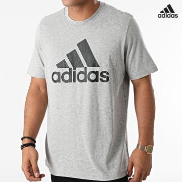https://laboutiqueofficielle-res.cloudinary.com/image/upload/v1627638668/Desc/Watermark/adidas_performance.svg Adidas Performance - Tee Shirt GK9123 Gris Chiné