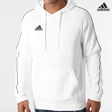 https://laboutiqueofficielle-res.cloudinary.com/image/upload/v1627638668/Desc/Watermark/adidas_performance.svg Adidas Performance - Sweat Capuche FS1895 Blanc