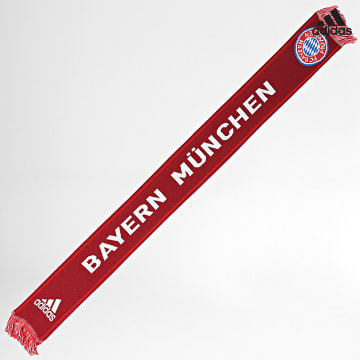 https://laboutiqueofficielle-res.cloudinary.com/image/upload/v1627638668/Desc/Watermark/adidas_performance.svg Adidas Performance - Echarpe Bayern Munich GU0048 Rouge