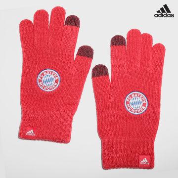 https://laboutiqueofficielle-res.cloudinary.com/image/upload/v1627638668/Desc/Watermark/adidas_performance.svg Adidas Performance - Gants FC Bayern GU0051 Rouge