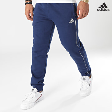 https://laboutiqueofficielle-res.cloudinary.com/image/upload/v1627638668/Desc/Watermark/adidas_performance.svg Adidas Performance - Pantalon Jogging Core 18 CV3753 Bleu Marine