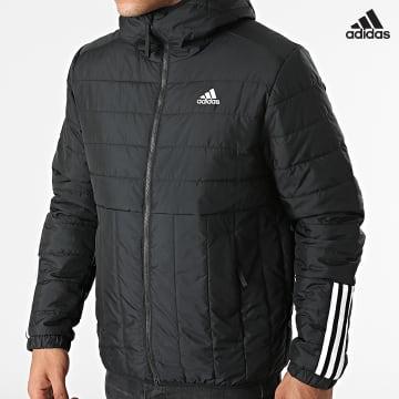 https://laboutiqueofficielle-res.cloudinary.com/image/upload/v1627638668/Desc/Watermark/adidas_performance.svg Adidas Performance - Doudoune Capuche Itavic GT1681 Noir