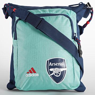 https://laboutiqueofficielle-res.cloudinary.com/image/upload/v1627638668/Desc/Watermark/adidas_performance.svg Adidas Performance - Sacoche Arsenal FC GU0114 Bleu Marine Turquoise