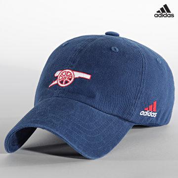 https://laboutiqueofficielle-res.cloudinary.com/image/upload/v1627638668/Desc/Watermark/adidas_performance.svg Adidas Performance - Casquette Arsenal FC GU0091 Bleu Marine
