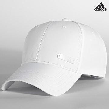 https://laboutiqueofficielle-res.cloudinary.com/image/upload/v1627638668/Desc/Watermark/adidas_performance.svg Adidas Performance - Casquette BB Cap Lt Metallic GM6264 Blanc