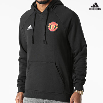https://laboutiqueofficielle-res.cloudinary.com/image/upload/v1627638668/Desc/Watermark/adidas_performance.svg Adidas Performance - Sweat Capuche Manchester United FC GR3909 Noir
