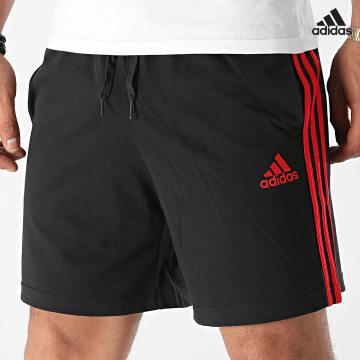 https://laboutiqueofficielle-res.cloudinary.com/image/upload/v1627638668/Desc/Watermark/adidas_performance.svg Adidas Performance - Short Jogging A Bandes 3 Stripes GV6357 Noir