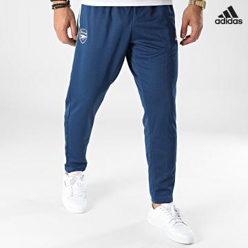https://laboutiqueofficielle-res.cloudinary.com/image/upload/v1627638668/Desc/Watermark/adidas_performance.svg Adidas Performance - Pantalon Jogging Arsenal FC GT1191 Bleu Marine