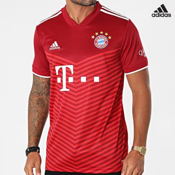 https://laboutiqueofficielle-res.cloudinary.com/image/upload/v1627638668/Desc/Watermark/adidas_performance.svg Adidas Performance - Tee Shirt De Sport FC Bayern GM5313 Bordeaux