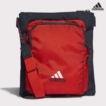 https://laboutiqueofficielle-res.cloudinary.com/image/upload/v1627638668/Desc/Watermark/adidas_performance.svg Adidas Performance - Sacoche Bayern Munich GU0054 Rouge Bleu Marine
