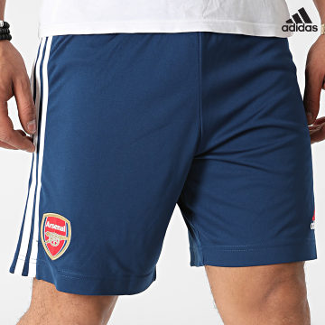 https://laboutiqueofficielle-res.cloudinary.com/image/upload/v1627638668/Desc/Watermark/adidas_performance.svg Adidas Performance - Short Jogging A Bandes Arsenal FC GS2451 Bleu Marine