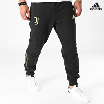 https://laboutiqueofficielle-res.cloudinary.com/image/upload/v1627638668/Desc/Watermark/adidas_performance.svg Adidas Performance - Pantalon Jogging A Bandes Juventus GR2913 Noir