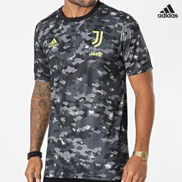 https://laboutiqueofficielle-res.cloudinary.com/image/upload/v1627638668/Desc/Watermark/adidas_performance.svg Adidas Performance - Tee Shirt De Sport Juventus GR2934 Gris Noir Camouflage