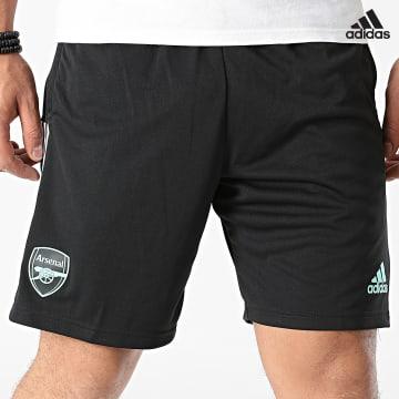 https://laboutiqueofficielle-res.cloudinary.com/image/upload/v1627638668/Desc/Watermark/adidas_performance.svg Adidas Performance - Short De Sport A Bandes Arsenal FC GR4185 Noir