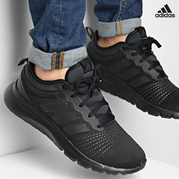 https://laboutiqueofficielle-res.cloudinary.com/image/upload/v1627638668/Desc/Watermark/adidas_performance.svg Adidas Performance - Baskets FluidUp H02001 Core Black