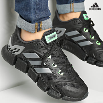 https://laboutiqueofficielle-res.cloudinary.com/image/upload/v1627638668/Desc/Watermark/adidas_performance.svg Adidas Performance - Baskets Climacool Vento GZ0124 Core Black Iron Metallic Secret GReen