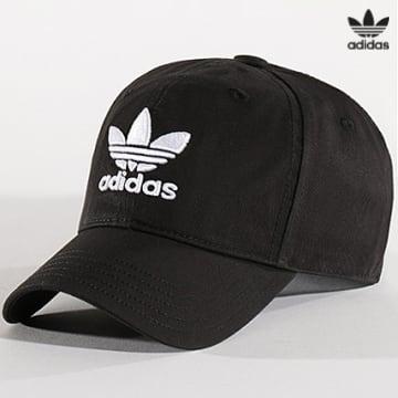 https://laboutiqueofficielle-res.cloudinary.com/image/upload/v1627646526/Desc/Watermark/3adidas_orginal.svg Adidas Originals - Casquette Classic Trefoil EC3603 Noir