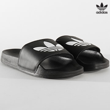 https://laboutiqueofficielle-res.cloudinary.com/image/upload/v1627646526/Desc/Watermark/3adidas_orginal.svg Adidas Originals - Claquettes Adilette Lite FU8298 Noir