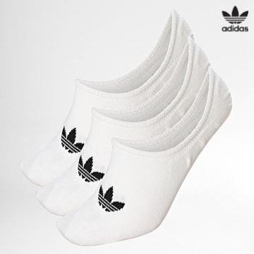 https://laboutiqueofficielle-res.cloudinary.com/image/upload/v1627646526/Desc/Watermark/3adidas_orginal.svg Adidas Originals - Lot De 3 Paires De Chaussettes Basses FM0676 Blanc