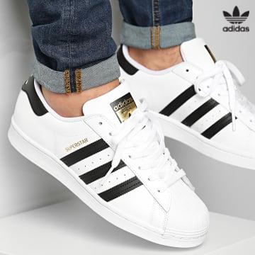 https://laboutiqueofficielle-res.cloudinary.com/image/upload/v1627646526/Desc/Watermark/3adidas_orginal.svg Adidas Originals - Baskets Superstar EG4958 Footwear White Core Black