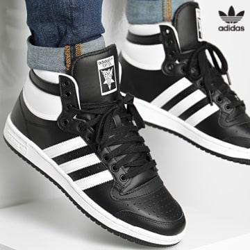 https://laboutiqueofficielle-res.cloudinary.com/image/upload/v1627646526/Desc/Watermark/3adidas_orginal.svg Adidas Originals - Baskets Top Ten Hi FV6131 Core Black Footwear White