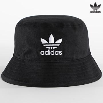 https://laboutiqueofficielle-res.cloudinary.com/image/upload/v1627646526/Desc/Watermark/3adidas_orginal.svg Adidas Originals - Bob Trefoil AJ8995 Noir