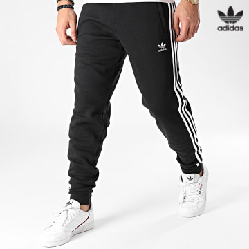 https://laboutiqueofficielle-res.cloudinary.com/image/upload/v1627646526/Desc/Watermark/3adidas_orginal.svg Adidas Originals - Pantalon Jogging A Bandes GN3458 Noir