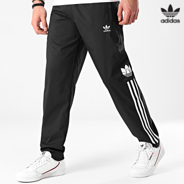 https://laboutiqueofficielle-res.cloudinary.com/image/upload/v1627646526/Desc/Watermark/3adidas_orginal.svg Adidas Originals - Pantalon Jogging A Bandes Trefoil 3 Stripes GN3543 Noir
