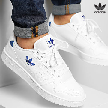 https://laboutiqueofficielle-res.cloudinary.com/image/upload/v1627646526/Desc/Watermark/3adidas_orginal.svg Adidas Originals - Baskets NY 90 FZ2247 Footwear White Royal Blue