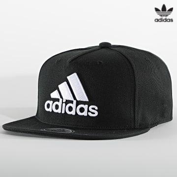 https://laboutiqueofficielle-res.cloudinary.com/image/upload/v1627646526/Desc/Watermark/3adidas_orginal.svg Adidas Originals - Casquette Snapback Logo GM4984 Noir