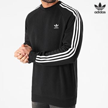 https://laboutiqueofficielle-res.cloudinary.com/image/upload/v1627646526/Desc/Watermark/3adidas_orginal.svg Adidas Originals - Sweat Crewneck A Bandes 3 Stripes GN3487 Noir