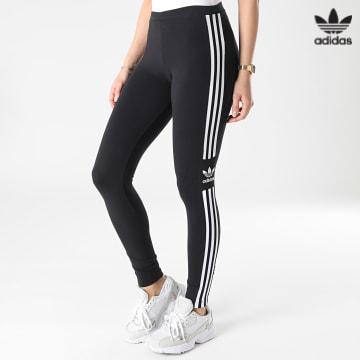 https://laboutiqueofficielle-res.cloudinary.com/image/upload/v1627646526/Desc/Watermark/3adidas_orginal.svg Adidas Originals - Legging Femme A Bandes Trefoil DV2636 Noir