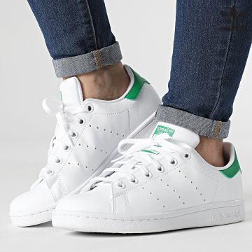 https://laboutiqueofficielle-res.cloudinary.com/image/upload/v1627646526/Desc/Watermark/3adidas_orginal.svg Adidas Originals - Baskets Femme Stan Smith FX7519 Cloud White Green